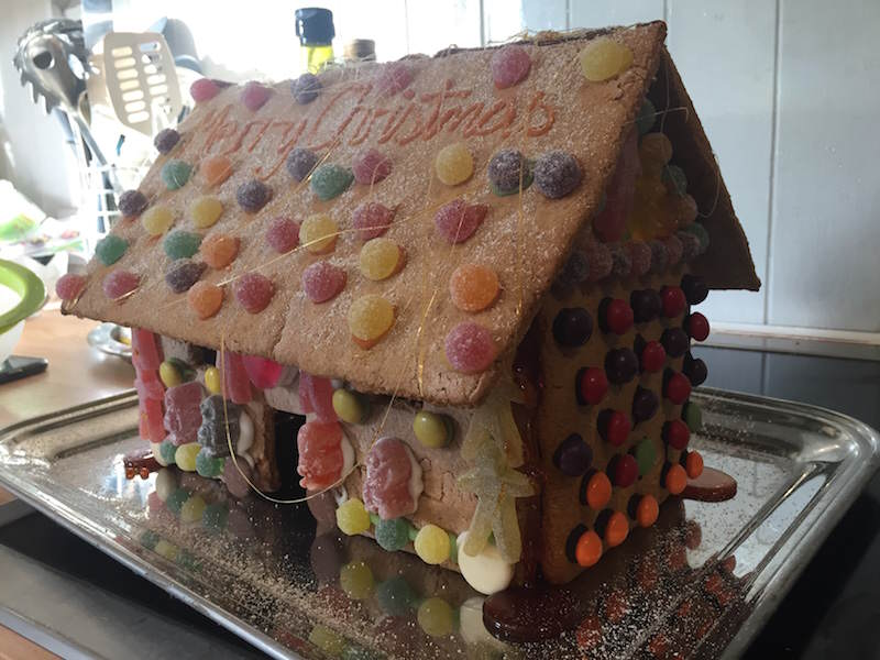 Kates gingerbread house Merry Christmas